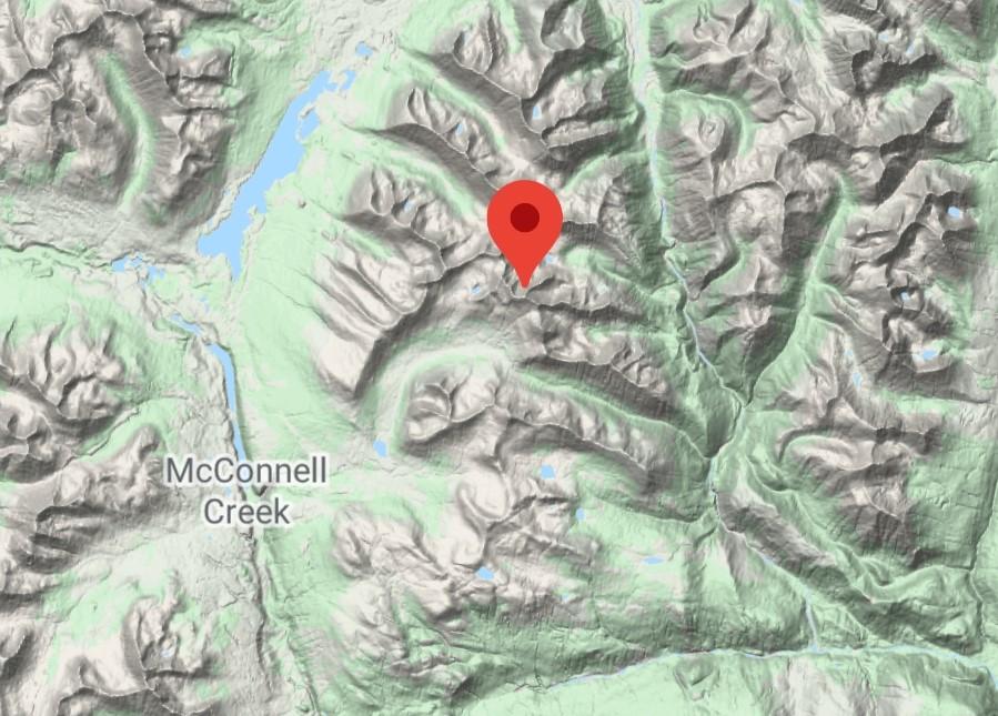 Jensen Peak er i Canada
